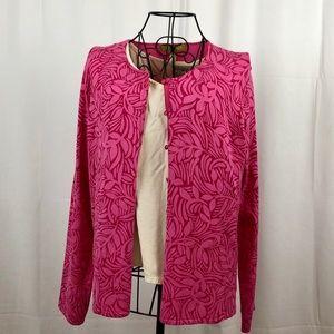 Sigrid Olson silk cardigan sweater S